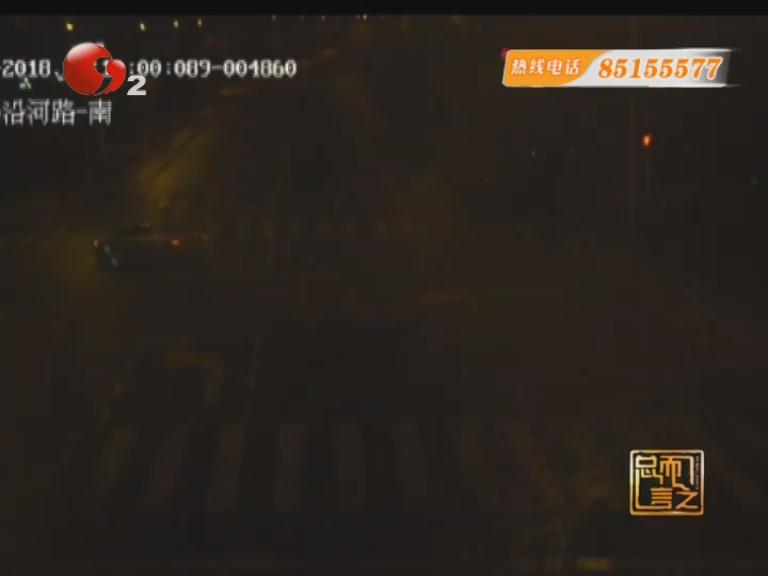 货车出租车相撞损失惨重 又是闯红灯惹的祸