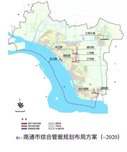 南通将建百余公里城市地下大动脉!重点区域在这里