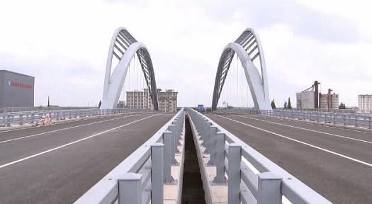 南通园林大桥主体竣工 通吕运河又添景观桥