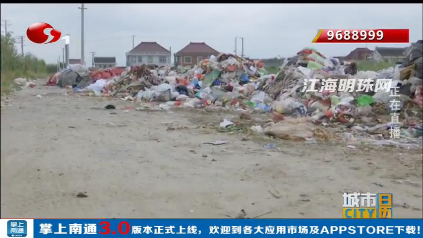通州川姜镇:垃圾堆场气味难闻 居民苦不堪言