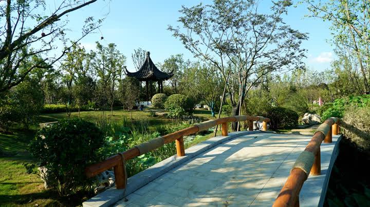 正在扬州举办的江苏园博会里南通园啥样儿?一起来了解