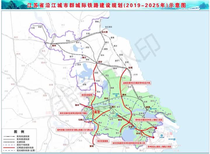 如东至南通至苏州至湖州线苏州至吴江段等城际铁路项目,其中江苏省内